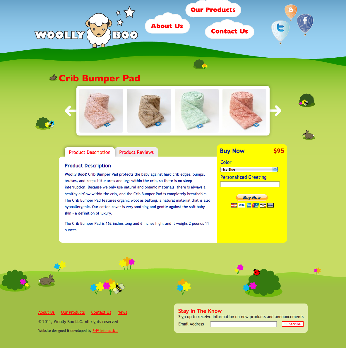 Woolly Boo Product Page