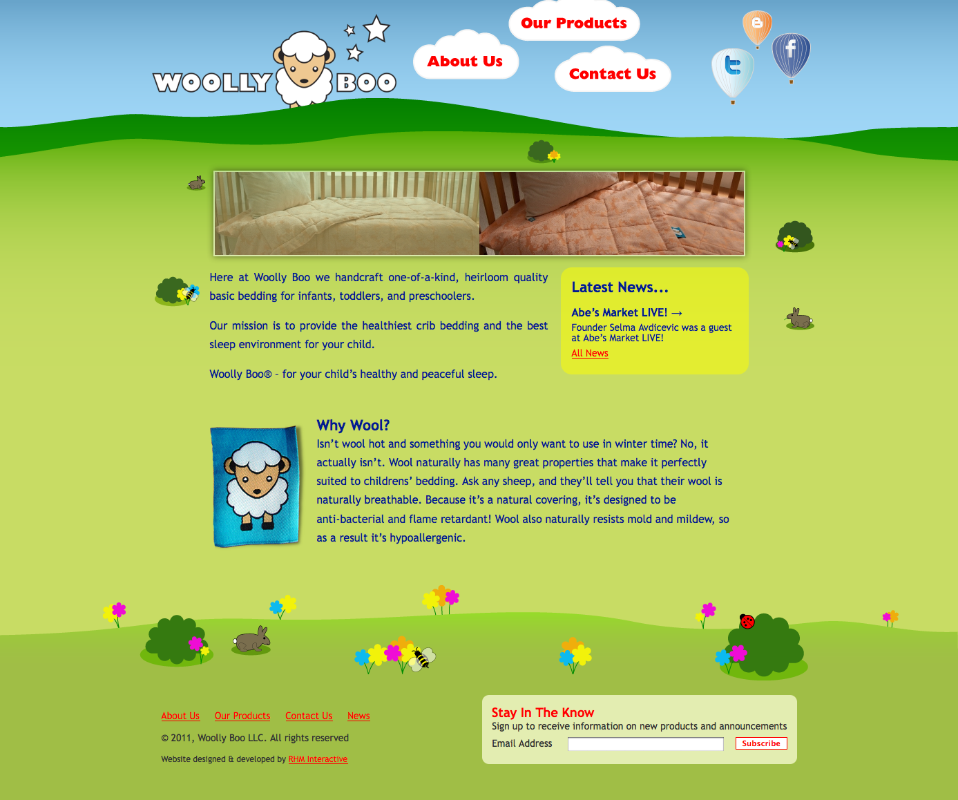 Woolly Boo Home Page