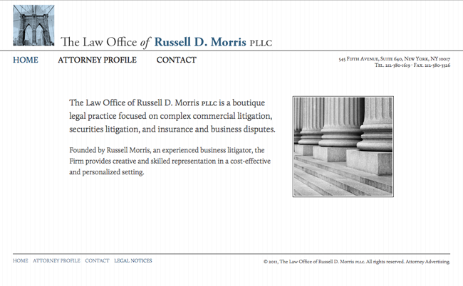 The Law Office of Russell D. Morris PLLC